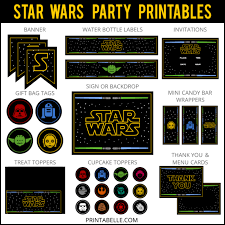 wars party wars party ideas printables more printables for kids
