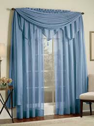 Lorraine Curtains Lovable Blue Sheer Curtains And Reverie Snow Voile Curtains Blue