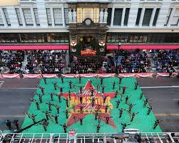 south shore drill team march in macy s thanksgiving day parade