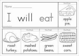 67 best thanksgiving sight word plans images on sight