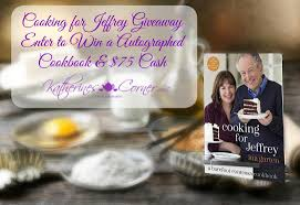 giveaway cooking for jeffrey cookbook by ina garten and 75 cash