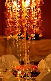 fall themed wedding gloria s autumn wedding decorations for