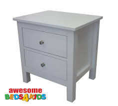 two drawer bedside table lilydale bedside tables awesome beds 4 kids
