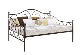 Metal Daybed Frame Dhp Furniture Size Metal Daybed