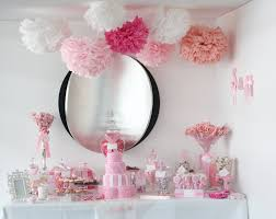 Bridal Shower Buffet by Sugarcoated Pink And White Candy Buffet Pink Pink Pink Buffet