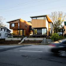 infill lot raleigh architecture company wins award for urban infill houses