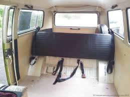 volkswagen camper inside safety belt campervan crazy