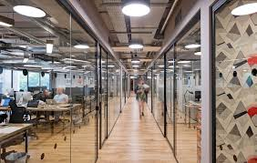 wework devonshire square office design fit out case study oktra wework devonshire square