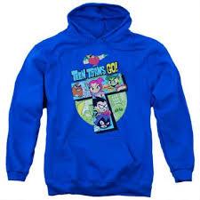 teen titans go royal blue hoodie cartoonnetworkshop com
