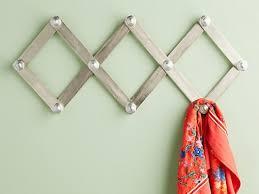 accordion wooden wall rack peg racks useful affordable storage