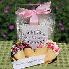 personalized wedding ribbon personalized wedding fortune cookies take out box favor