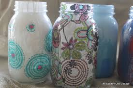 decorating jars five ways with plaidcrafts walmartplaid the