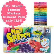 mr sketch scented markers 12 count pack only 6 64 reg 10 49