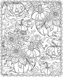download halloween coloring pages difficult