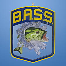 hooked on fishing hallmark bass logo ornament 2007 pop culture at