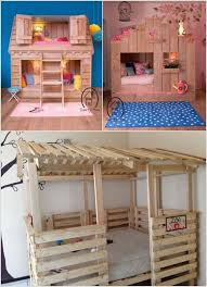 Pallet Bunk Bed Oh Yeah Easy I Can Make This Projects by 100 Best Pallet Projects For Kids Images On Pinterest Pallet