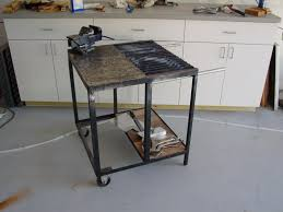 show me your welding table and tell me why you like dislike it