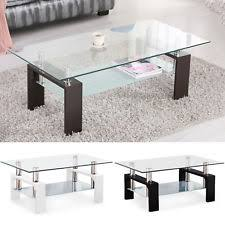 Glass And Chrome Coffee Table Chrome Coffee Table Ebay