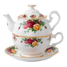 roses tea set royal albert country roses tea for one royal albert australia