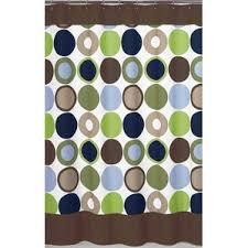 Teal And Brown Shower Curtain Polka Dot Shower Curtains You U0027ll Love Wayfair