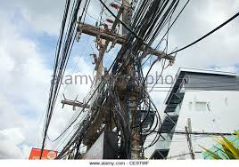 Messy Wires Unsafe Electrical Wires Stock Photos U0026 Unsafe Electrical Wires