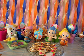 Bubble Guppies Decorations Bubble Guppies Party Decorations As The Great Decoration For Kids