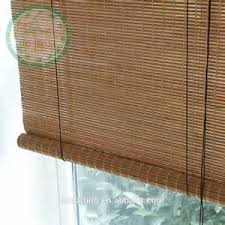 Waterproof Blinds Bamboo Outdoor Shades Florida Supplier White Finger