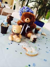 Teddy Bear Centerpieces by Teddy Bear Baby Shower Centerpieces Diy Teddy Bear Boy Blue