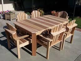 2x4 Outdoor Furniture by Spring Garden Cedar