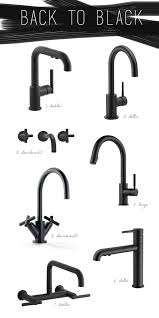 kitchen faucet fixtures kitchen trend black vs brass coco kelley kitchen trends