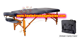best heated massage table portable massage chair table and heated tables for massage therapy