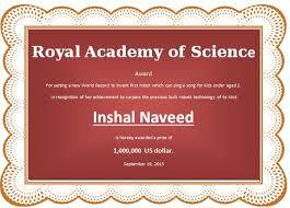 price winner award certificate template word u0026 excel templates
