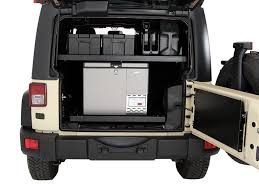 jeep willys 2015 4 door jeep wrangler jku 4 door cargo storage interior rack by front