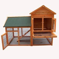 Sale Rabbit Hutches Tinnapet Chicken Coop Rabbit Hutch Online Pets Shop Ship