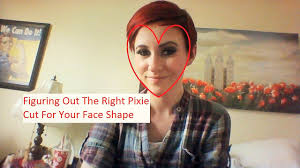 find right hairstyle for face shape of yours finding the right pixie cut for your faceshape youtube