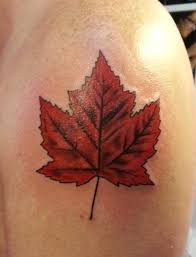 japanese maple leaf tattoo on wrist real photo pictures images