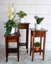 eckregal nussbaumfarben beistelltisch 32x70x32cm 1 schublade 1 ablageboden pappel