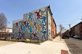 Mural Arts Program by Iconic Keith Haring Mural Is Restored Bringing Endless Smiles To