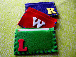 library card holder craft for library day and or library storytime