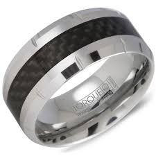 carbon wedding band 10mm tungsten carbide wedding band with carbon fiber inlay