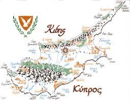 Map Of Cyprus Maptitude