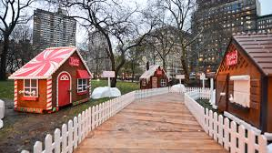walk inside a life size gingerbread house in mad sq park next month