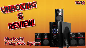 frisby fs 5010bt 5 1 surround sound unboxing u0026 review youtube