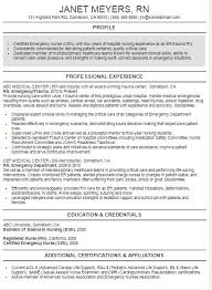 Best Nursing Resume Examples by Best Nursing Resume Template
