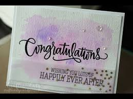congratulations wedding card update