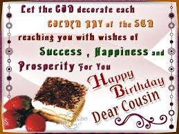 Happy Birthday Wishes For A Cousin Happy Blessed Birthday Birthday Wishes Pinterest Cousin