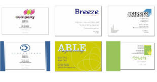 6 best images of example business card template free business