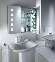 Modern Bathroom Mirror Lighting Bathroom Design And Decoration Using Rectangular Clear Shelf
