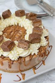 no bake mars bar cheesecake jane u0027s patisserie
