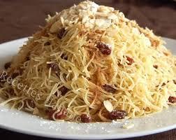 beurre de cuisine cheveux seffa aux cheveux d ange recettes by hanane pâtisserie